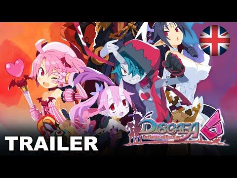 Disgaea 6: Defiance of Destiny - Character Trailer (Nintendo Switch) (EU - English)
