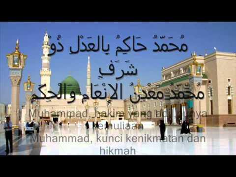 qasidah muhammadiyyah terjemahan melayu