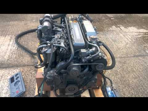Yanmar 4LHA-STP 240hp 4 Cylinder Marine Diesel Engine
