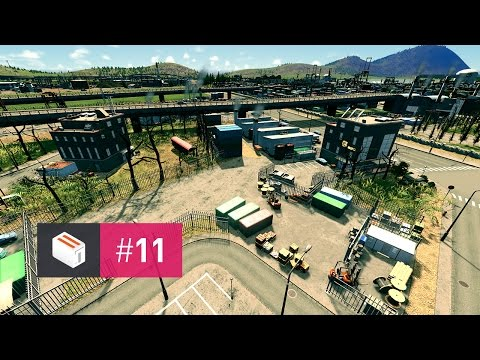 Let's Design Cities Skylines — EP 11 — Supplying Industrial Demand