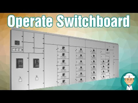 How to Operate Main Switchboard of Electric Power Plant