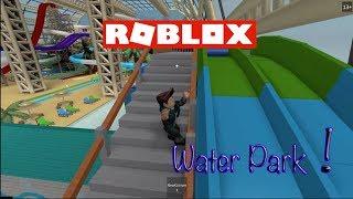 ROBLOX - WATER PARK ADVENTURE - Sed cavalca gli scivoli!