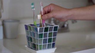 【CAINZ DIY STYLE】植木鉢で歯ブラシ立て DIY