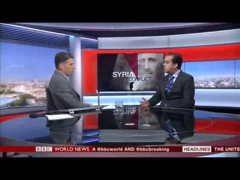 Barak Seener interview on BBC World on President Obama's Indecision on Syria Sept, 1, 2013
