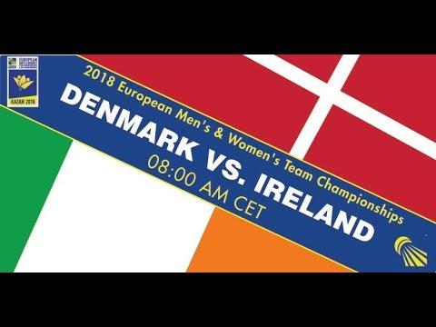 2018 EMTC Denmark - Ireland (Court 6)
