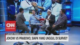Jokowi vs Prabowo, Siapa yang Unggul di Survei Pilpres?