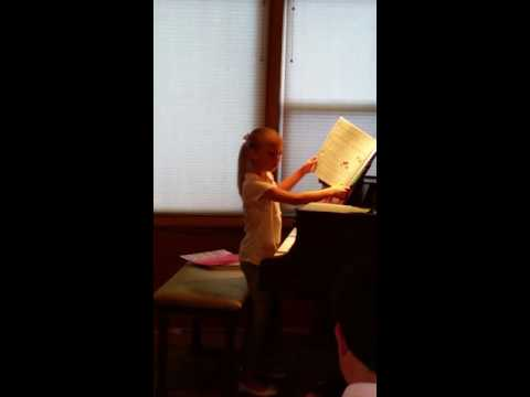 Katelin's Piano Recital May 2016