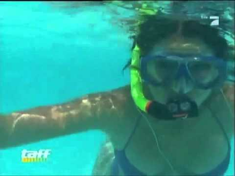 nice Snorkeling Girl    Under Water Show Aquagrils Underwater