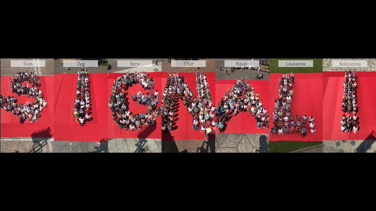 Welt MS Tag: Wir senden ein Signal