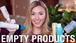 EMPTY PRODUCTS | February 2016, #February  #FAVORITES #2016