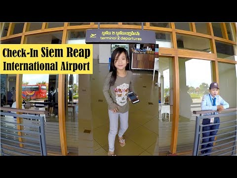 Travel From Siem Reap To Phnom Penh City, Our Flight Cancelled.
