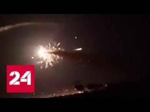 Воздушная атака на окрестности Дамаска: четыре человека погибли, 21 ранен - Россия 24