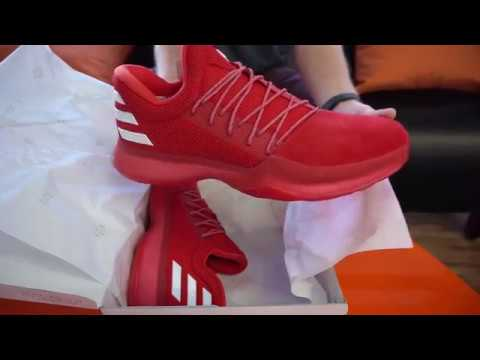 defd38b1a7a Adidas Harden Vol.1 Men s Basketball shoe SKU  CQ1404 RevUp Sports Unboxing