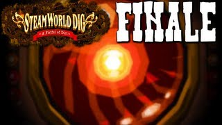 SteamWorld Dig: Voltbot Boss Battle (Nintendo 3DS Gameplay Walkthrough FINALE)