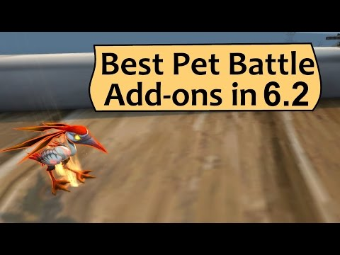 Best WoW Pet Battle Addons - Patch 6.2