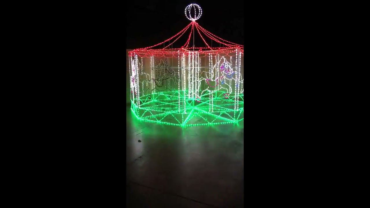 Christmas Done Bright.3d Carousel Christmas Done Bright