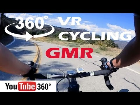 Experience a Road Bike Simulator in 360 VR Virtual Reality at GMR