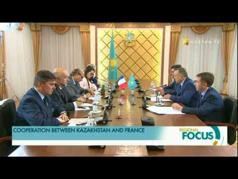COOPERATION BETWEEN KAZAKHSTAN AND FRANCE