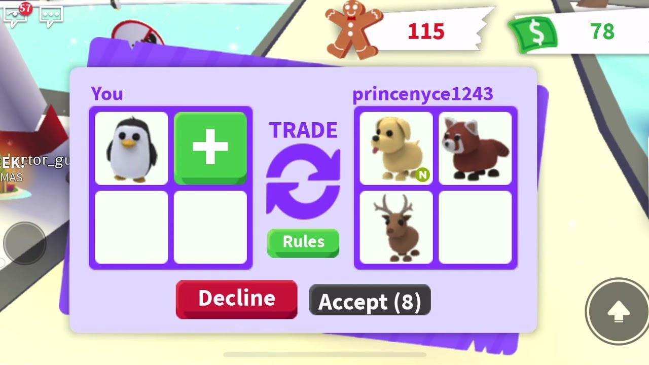 Adopt me trading 1# - YouTube