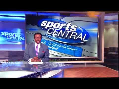 "KCBS CBS 2 ""Sports Central"" Sunday Night Open December 16, 2018"