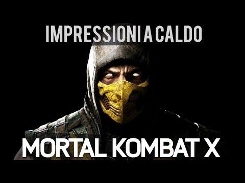 Mortal Kombat X - Video Anteprima E3 2014 - PS4 - HD - Ita