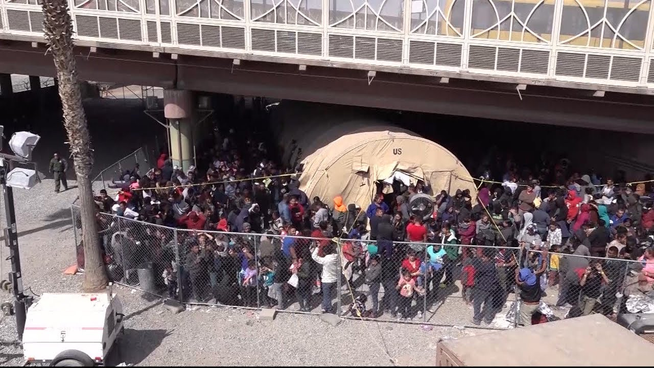 Overwhelming surge of migrants in Texas