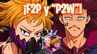 🔥¡EQUIPO F2P PARA DERROTAR al FINAL BOSS DERIERI y MONSPEET!🔥 Seven Deadly Sins: Grand Cross