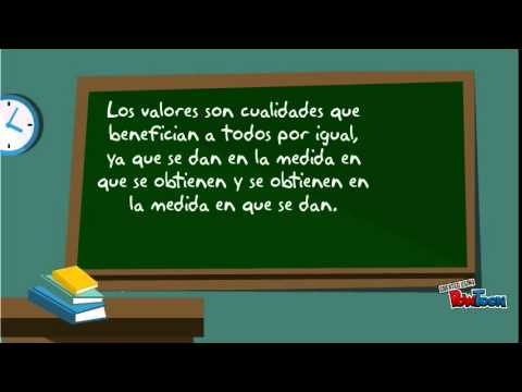Importancia de los valores en una sociedad youtube for Que son los comedores escolares