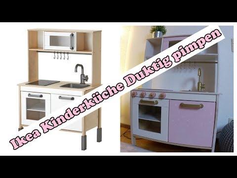 Ikea Kinderkuche Duktig Pimpen Rosa Madchen Traum Youtube