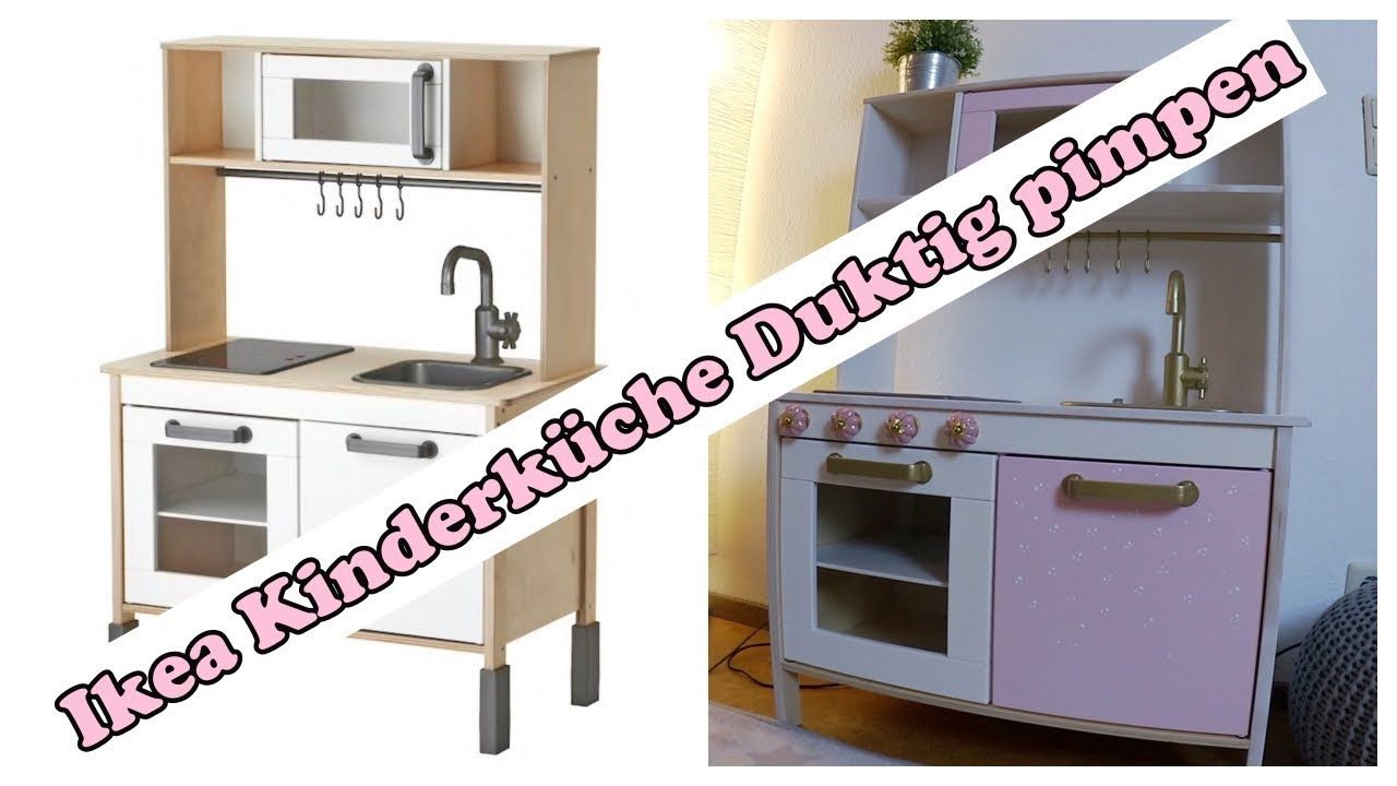 ikea kinderk che duktig pimpen rosa m dchen traum youtube. Black Bedroom Furniture Sets. Home Design Ideas