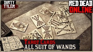 Collector All Suit Of Wands Tarot Cards Red Dead Online RDR2