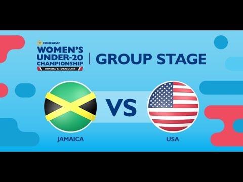 CU20W: Jamaica vs. United States