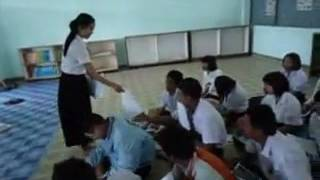 Video of Teaching Practice Using Communicative Lesson Plan to Improve English WRITING Skill