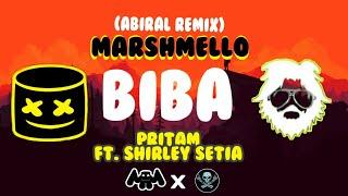 Marshmello x Pritam - BIBA Ft. Shirley Setia & Shahrukh Khan (Abiral Remix)