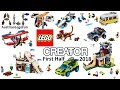 All Lego Creator Sets First Wave 2018 - Lego Speed Build Review