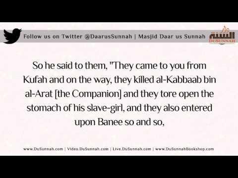 """But Shaykh al-Fawzaan and the Mufti met Yahya al-Hajuri.."" - Shaykh Adil Mansoor"