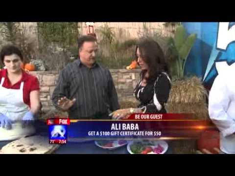 Ali Baba Restaurant On Fox 5 San Diego