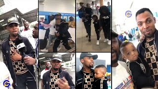 Rev Obofour & wife receive massive welcome in US;says he's there to ..
