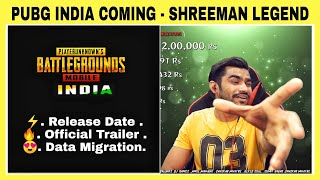 😍 PUBG MOBILE INDIA SHREEMAN LEGEND LEAK RELEASE DATE, OFFICIAL TRAILER, BETA