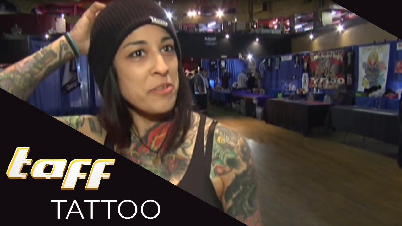 new york t towiererin lydia bruno zeigt die neuesten tattoo trends taff tattoo prosieben. Black Bedroom Furniture Sets. Home Design Ideas