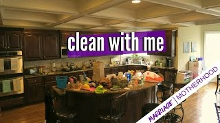 Speed Clean with me | Working Mom Cleaning routine | Kitchen Cleaning | Marriage & Motherhood
