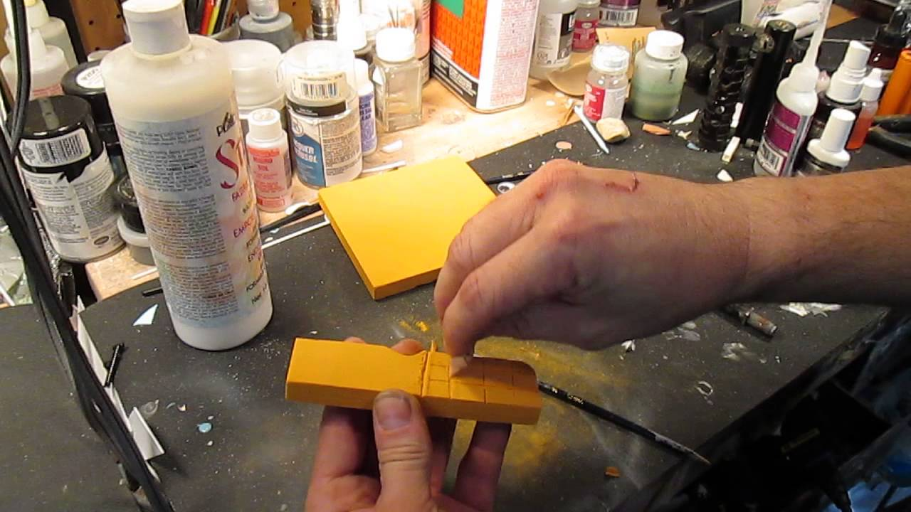 How to work with Balsa Foam