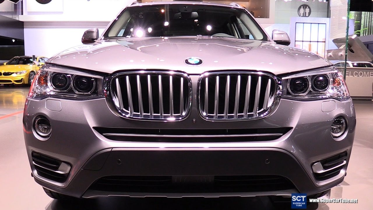 2017 bmw x3 xdrive 35i m sport exterior and interior walkaround 2016 la auto show youtube. Black Bedroom Furniture Sets. Home Design Ideas
