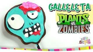 PLANTS VS ZOMBIES Lollipop Cookies / Paletas de Galleta Thumbnail
