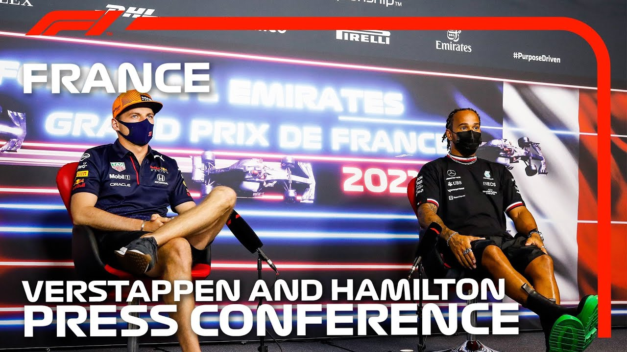 The Two Title Contenders Talk Championship Battle | 2021 French Grand Prix