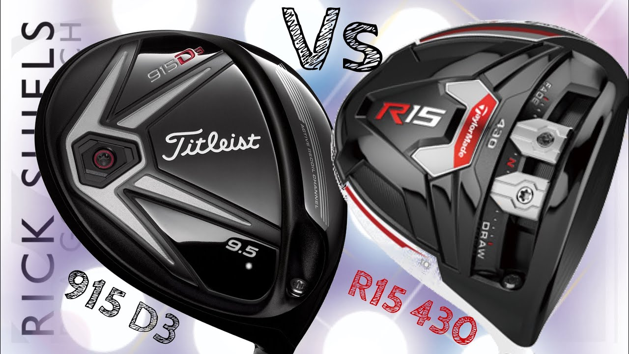 Taylormade R1 Driver >> Longest Drive Comp Titleist 915 D3 Vs TaylorMade R15 - YouTube