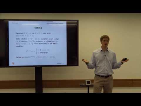 Fellow Short Talks: Professor Richard Samworth, Cambridge University