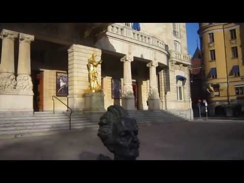 Around Norrmalm & city centre - Stockholm, Sweden [HD video]