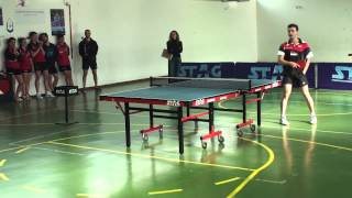 Kreanga exhibition in DYNAMI Table Tennis Club
