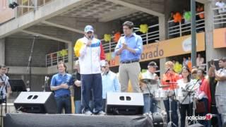 """Fue inaugurado el gimnasio vertical El Dorado en la parroquia Petare: """"el más grande de Venezuela"""""""